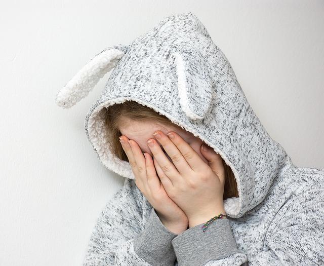 Un enfant anxieu et triste