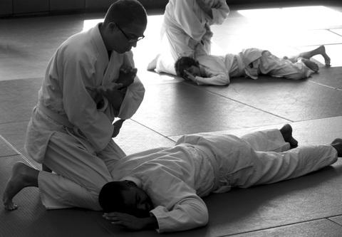 Une leçon de judo